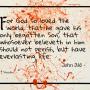 John 3:16 Orange